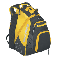 DeMarini VOODOO Rebirth Backpack - Gold / Grey