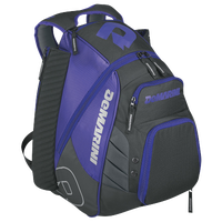 DeMarini VOODOO Rebirth Backpack - Grey / Purple