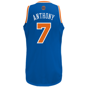adidas NBA  Revolution 30 Swingman Jersey - Men's - Carmelo Anthony - New York Knicks - Royal
