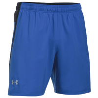 Under Armour Launch Stretch Woven 2-In-1 Shorts - Men's - Blue / Black