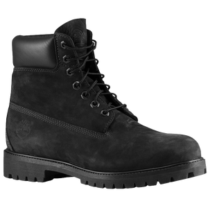 "Timberland 6"" Premium Waterproof Boots - Men's - Jet Black"