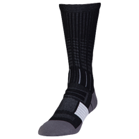 Under Armour Unrivaled Crew Socks - Black / Grey