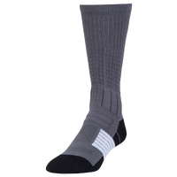 Under Armour Unrivaled Crew Socks - Grey / Black