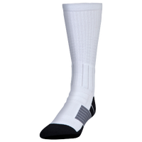 Under Armour Unrivaled Crew Socks - White / Black