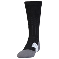 Under Armour Unrivaled Crew Socks - Youth - Black / Grey