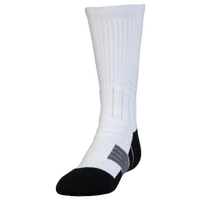 Under Armour Unrivaled Crew Socks - Youth - White / Black