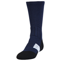 Under Armour Unrivaled Crew Socks - Youth - Navy / Black