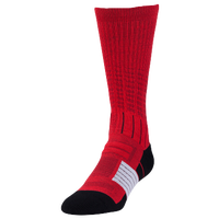 Under Armour Unrivaled Crew Socks - Youth - Red / Black