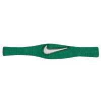 Nike Dri-FIT Bicep Bands - Men's - Dark Green / White