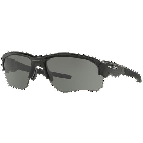 e87f4433fd6 Oakley Flak Draft Sunglasses - Baseball - Accessories - Polished Black  Frame Grey Lens