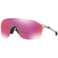 Oakley Evzero Stride Sunglasses - Youth - Silver / Red