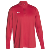 Under Armour Team Locker 1/4 Zip - Men's - Red / Red