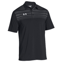 Under Armour Team Victor Polo - Men's - Black / Grey