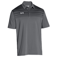 Under Armour Team Victor Polo - Men's - Grey / Grey