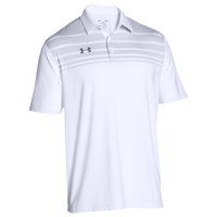 Under Armour Team Victor Polo - Men's - White / Grey