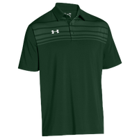 Under Armour Team Victor Polo - Men's - Dark Green / Dark Green