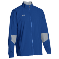 Under Armour Team Squad Woven Warm Up Jacket - Men's - Blue / Grey