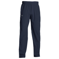 Under Armour Team Squad Woven Warm Up Pants - Men's - Navy / Navy