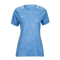 Nike Team Dry Challenge II Jersey - Women's - Light Blue / White