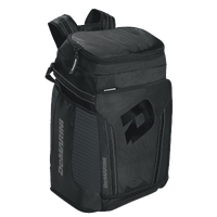 DeMarini Black Ops Baseball Backpack - Black / Grey