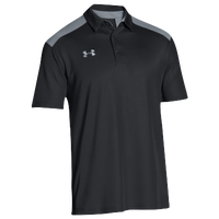 Under Armour Team Colorblock Polo - Men's - Black / Grey