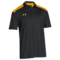 Under Armour Team Colorblock Polo - Men's - Black / Gold
