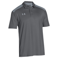Under Armour Team Colorblock Polo - Men's - Grey / Grey