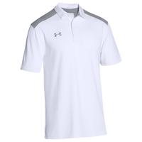 Under Armour Team Colorblock Polo - Men's - White / Grey