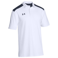 Under Armour Team Colorblock Polo - Men's - White / Navy
