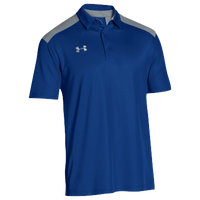Under Armour Team Colorblock Polo - Men's - Blue / Grey