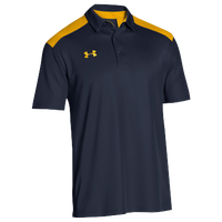 Under Armour Team Colorblock Polo - Men's - Navy / Gold