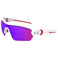 Under Armour Menace Sunglasses - Youth - White / Red
