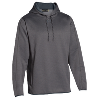 Under Armour Team Double Threat Fleece Hoodie - Men's - Grey / Grey