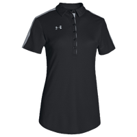 Under Armour Team Armour Colorblock Polo - Women's - Black / Grey
