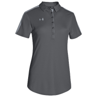 Under Armour Team Armour Colorblock Polo - Women's - Grey / Grey