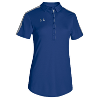 Under Armour Team Armour Colorblock Polo - Women's - Blue / Grey