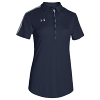 Under Armour Team Armour Colorblock Polo - Women's - Navy / Grey