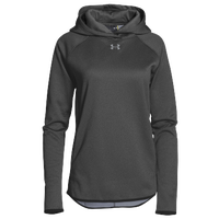 Under Armour Team Double Threat Fleece Hoodie - Women's - Grey / Grey