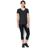 Under Armour Team Stadium Short Sleeve T-Shirt - Women's - Black / Grey