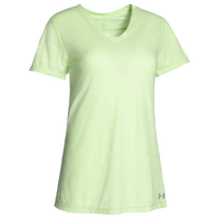 Under Armour Team Stadium Short Sleeve T-Shirt - Women's - Light Green / Light Green