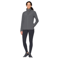 Under Armour Team Squad Woven Warm Up Jacket - Women's - Grey / Grey