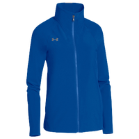 Under Armour Team Squad Woven Warm Up Jacket - Women's - Blue / Blue