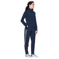 Under Armour Team Squad Woven Warm Up Jacket - Women's - Navy / Navy