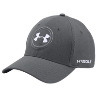 Under Armour JS Tour Golf Cap - Men's - Grey / White