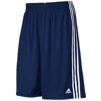 adidas Practice Shorts - Men's - Navy / White