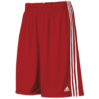 adidas Practice Shorts - Men's - Red / White