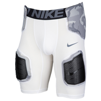 Nike Hyperstrong Hardplate Core Short Girdle - Men's - White / Grey