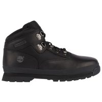 Timberland Euro Hiker - Boys' Grade School - Black / Grey