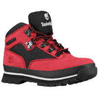 Timberland Euro Hiker - Boys' Grade School - Red / Black
