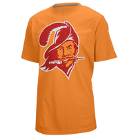 Nike NFL Retro Logo T-Shirt - Men's - Tampa Bay Buccaneers - Orange / White